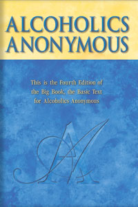 This is the 4th Edition of the Big Book, the Basic Text for Alcoholics Anonymous.